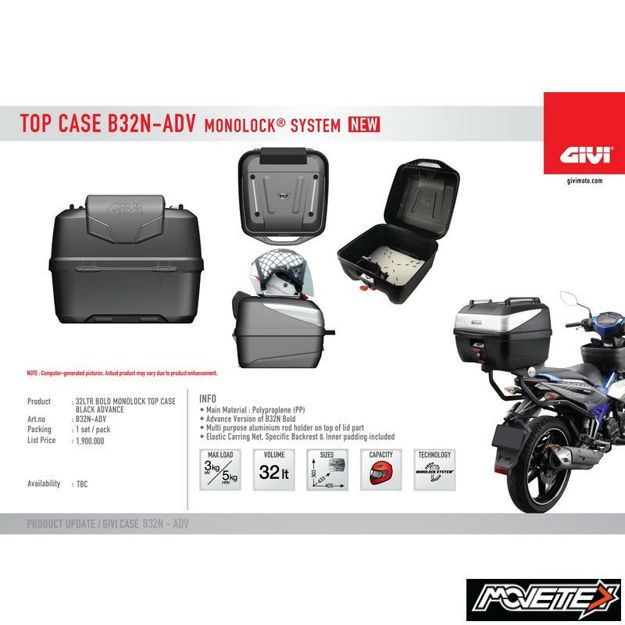 Picture of Givi Top Case B32N – ADV 32L