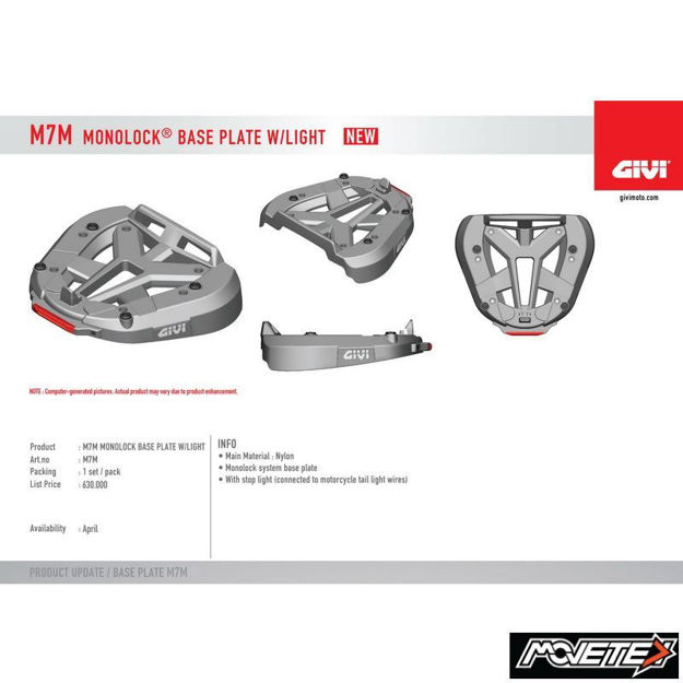 Picture of Givi Mounting Plate M7M