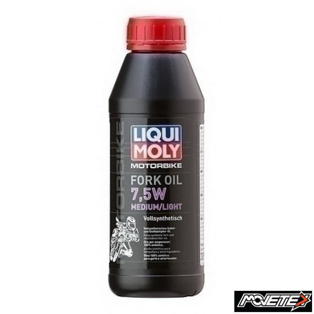 Picture of Liqui Moly Motorbike Fork Oil 7.5W Light/Medium