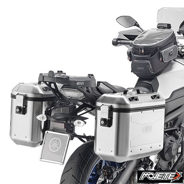 Picture of Givi Trekker side cases Dolomiti Aluminium 36L