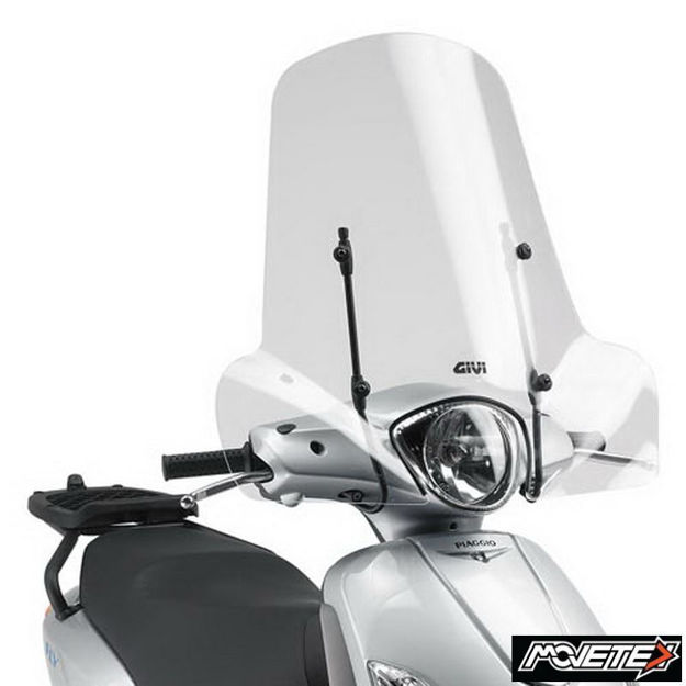 Picture of Givi Windshield 107A for Piaggio Keeway Peugeot