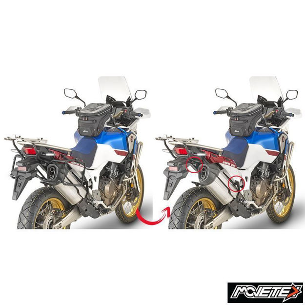 Picture of Givi Side Case Holder Honda Africa Twin CRF1000L