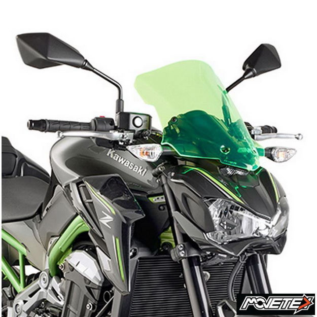 Picture of Givi Lime Kawasaki Z900 Windshield