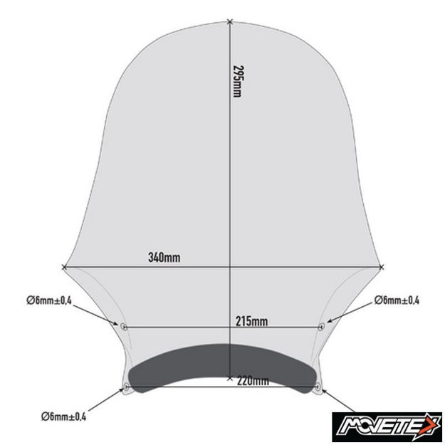Picture of Givi windshield A200